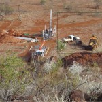 Drilling at Mt Caroline