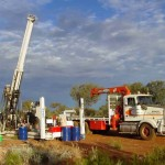 Drilling at Mt Harcus